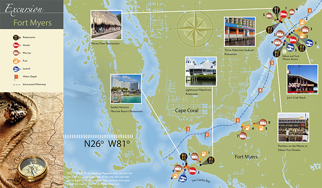 Fort Meyers map