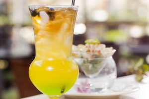 Guy harvey Drink and Ceviche